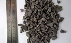 Granulated HDPE industrial scrap JAZZ granulate 8mm