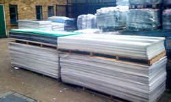 PVC freefoam sheet offcuts with or without LDPE masking